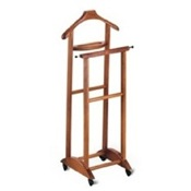 Valet Stand Cherry Beech Wood Valet Stand with Tray Aris 272-C