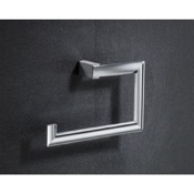 Towel Ring Square Chromed Brass Towel Ring Gedy 5570-13