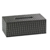 Tissue Box Cover Rectangle Faux Leather Tissue Box Cover Gedy 6708
