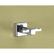 Bathroom Hook Polished Chrome Double Hook Gedy 6928-13