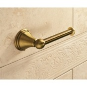Toilet Paper Holder Classic-Style Bronze Toilet Roll Holder Gedy 7524-44