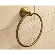 Towel Ring Classic-Style Bronze Towel Ring Gedy 7570-44