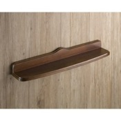 Bathroom Shelf Old Walnut Wood Bathroom Shelf Gedy 8119-55-95