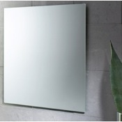 Vanity Mirror 24 x 28 Inch Wall Mounted Vanity Mirror Gedy 2550-13