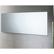 Vanity Mirror 39 x 16 Inch Polished Edge Vanity Mirror Gedy 2552-13