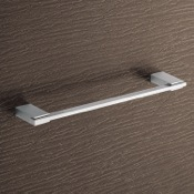Towel Bar 14 Inch Square Polished Chrome Towel Bar Gedy 3821-35-13