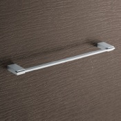 Towel Bar Square 18 Inch Polished Chrome Towel Bar Gedy 3821-45-13