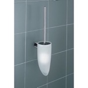 Toilet Brush Wall Mounted White Toilet Brush Holder Gedy 4633-03-02