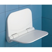 Shower Seat Dino White Shower Seat Gedy DI82-02