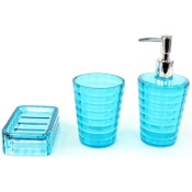 Bathroom Accessory Set 3 Piece Glady Collection Accessory Set Gedy GL200