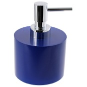 Soap Dispenser Short Round Soap Dispenser in Resin Gedy YU81