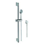 Handheld Showerhead Chrome Hand Shower, Sliding Rail, and Water Connection Gedy SUP1103