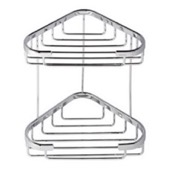 Shower Basket Chrome 2 Tier Double Shower Basket Geesa 185