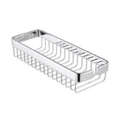 Shower Basket Chrome Single Shower Basket Geesa 2602-02