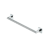 Towel Bar 20 Inch Chrome Brass Towel Bar Geesa 6807-02-45