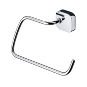 Towel Ring Round Wall Mounted Chrome Towel Ring Geesa 2404-02