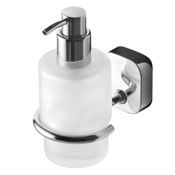 Soap Dispenser Round Wall Mounted Chrome Soap Dispenser Geesa 2416-02