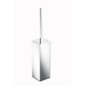 Toilet Brush Rectangle Free Standing Chrome Toilet Brush Geesa 3511-02