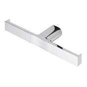 Toilet Paper Holder Rectangle Wall Mounted Chrome Toilet Paper Holder Geesa 4518-02