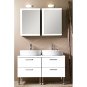 Bathroom Vanity 45 Inch Bathroom Vanity Set Iotti A19