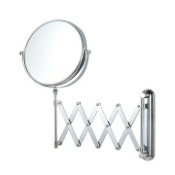 Makeup Mirror Double Sided Adjustable Arm 3x Shaving Mirror Nameeks AR7720