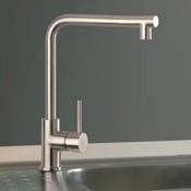 Kitchen Faucets Chrome One Hole Kitchen Faucet Remer 304N72