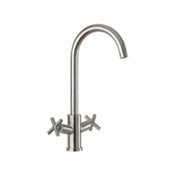Kitchen Faucets Chrome One Hole Kitchen Faucet Remer 304X43