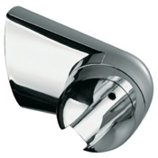 Hand Held Shower Bracket Wall Shower Bracket Made in Polished Chrome Remer 339L