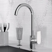 Kitchen Faucet One Hole Kitchen Faucet in Multiple Finishes Remer D72