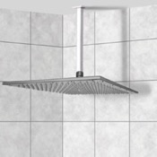 Shower Head Full Function Modern Shower Head with Shower Arm Remer 347S-359SSXL