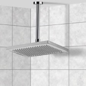 Shower Head Ceiling Mounted Shower Head in Polished Chrome Remer 347N-359W