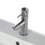 Bathroom Faucet Single Lever Sink Faucet Without Pop-Up Waste Remer N11US2