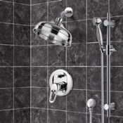 Shower Faucet Shower System with 8