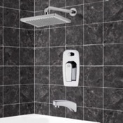 Tub and Shower Faucet Tub and Shower Faucet Sets with 9.5