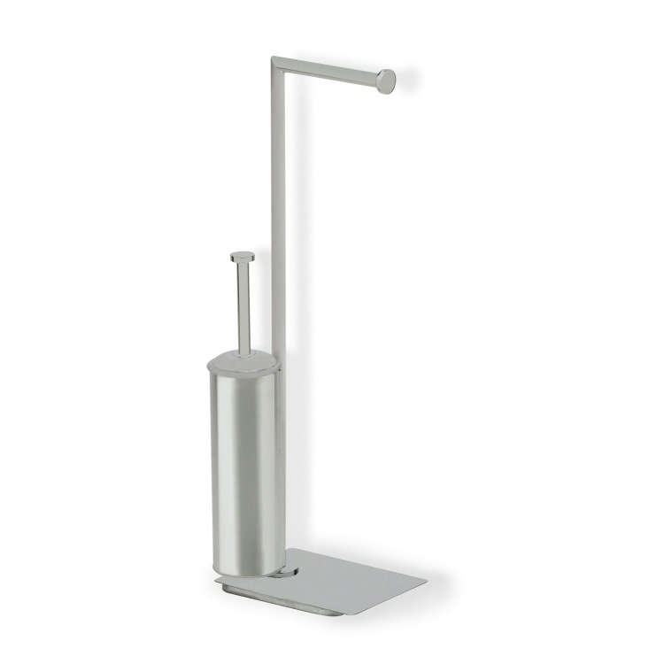 Bathroom Butler Satin Nickel Free Standing 2-Function Bathroom Butler StilHaus ME20-36