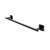 Towel Bar Square 24 Inch Black Towel Bar StilHaus U05-23