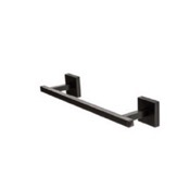 Towel Bar 12 Inch Matte Black Towel Bar StilHaus U06-23