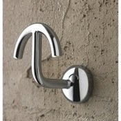Bathroom Hook Polished Chrome Robe Hook Toscanaluce 1504