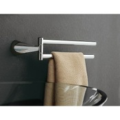 Swivel Towel Bar 14 Inch Chrome Double Arm Swivel Towel Bar Toscanaluce 5519 dx/sx