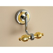 Bathroom Hook Classic-Style Double Robe or Towel Hook Toscanaluce 6504