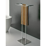 Towel Stand Free Standing Towel Stand with Chrome Base Toscanaluce 877