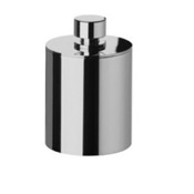 Bathroom Jar Round Metal Cotton Swab Jar Windisch 88415