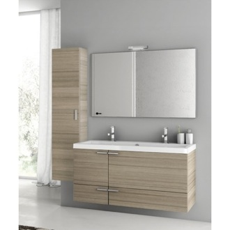 Bathroom Vanity 47 Inch Larch Canapa Bathroom Vanity Set ACF ANS333