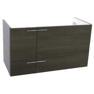 Vanity Cabinet 39 Inch Wall Mount Grey Oak Bathroom Vanity Cabinet ACF L419GO