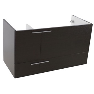 Vanity Cabinet 39 Inch Wall Mount Wenge Bathroom Vanity Cabinet ACF L419WE