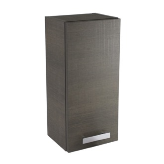 Storage Cabinet Short Storage Cabinet in Grey Oak Finish ACF P352GO