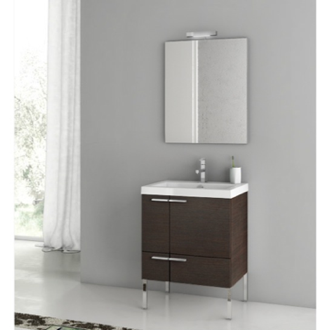 Bathroom Vanity 23 Inch Bathroom Vanity Set ACF ANS01-Wenge