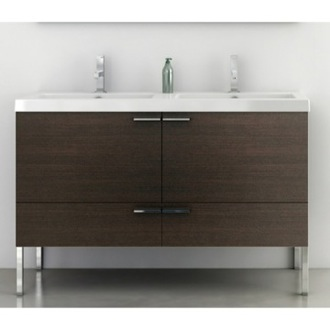 Bathroom Vanity 47 Inch Vanity Cabinet With Fitted Sink ACF ANS36