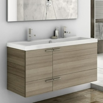 Bathroom Vanity 47 Inch Vanity Cabinet With Fitted Sink ACF ANS39-Larch Canapa