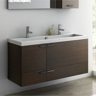 Bathroom Vanity 47 Inch Vanity Cabinet With Fitted Sink ACF ANS39